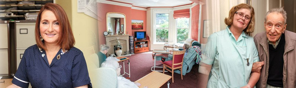 Inside Maristow House Nursing Home, Salisbury
